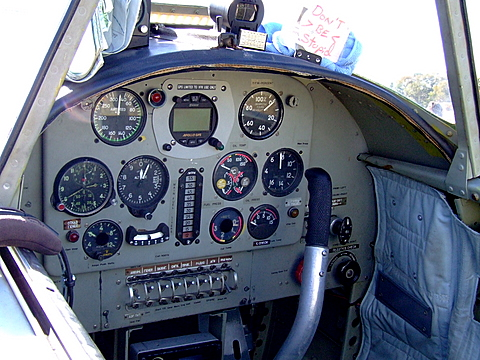 Instrument Panel of the Yak-50