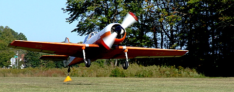 225 Foot Takeoff Roll in the Yak-50