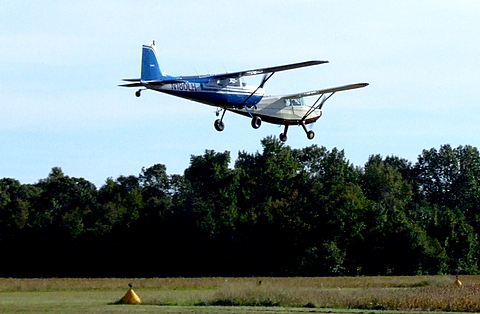 Stinson 108 & Cessna 180