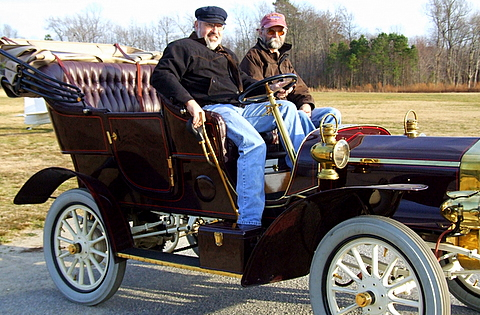 A 1906 Buick