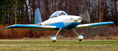 Bruce Raymond's RV-8 based at Easton, MD.