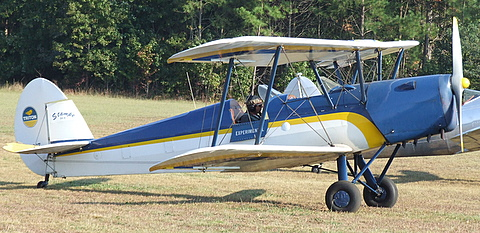 1949 Nord Stampe SV4C Biplane @ Campbell Field Airport