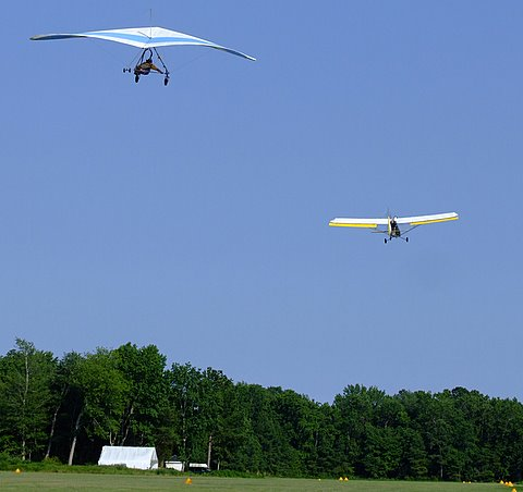 Hang Gliding at Campbell Field