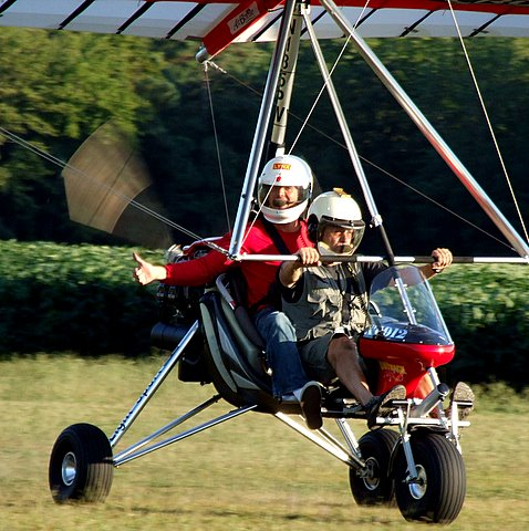 AirBorne Outback Trike at Campbell Field Airport