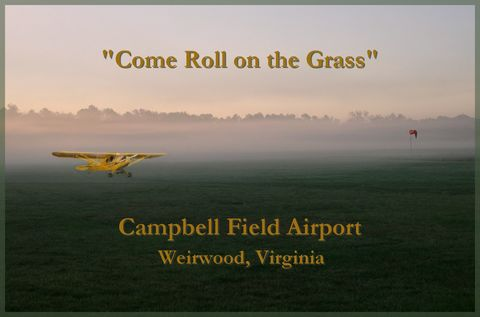 Campbell Field Airport, 9VG, Weirwood Virginia