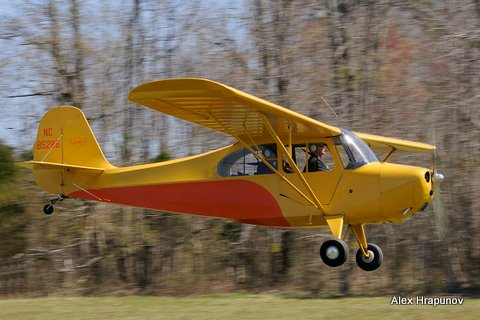 Aeronca at Campbell Field