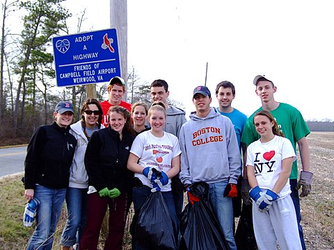 Boston College Clean Up Crew